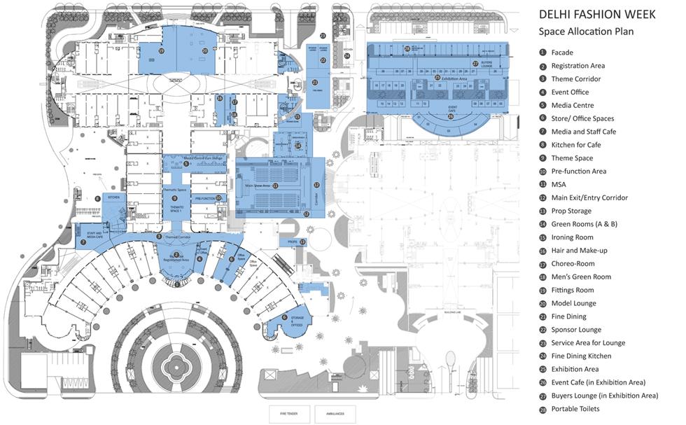 layout dfws